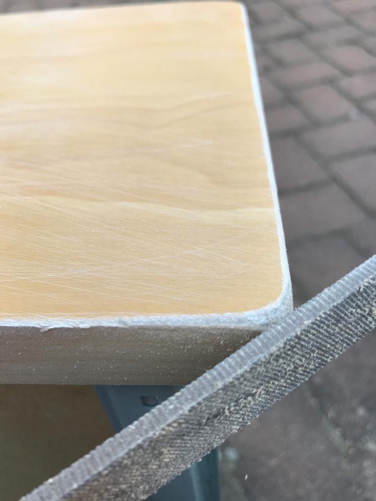 Ikea Malm Kommode abfeilen